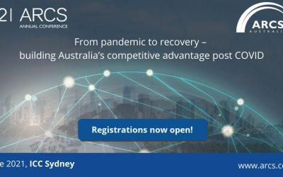 2021 ARCS Annual Conference, 7 – 9 June 2021.