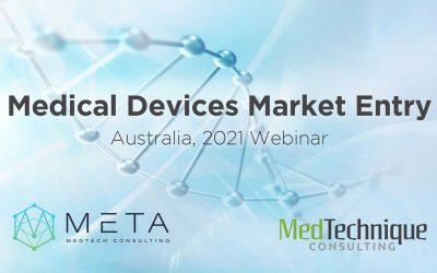 Medical Devices Market Entry – Australia Webinar